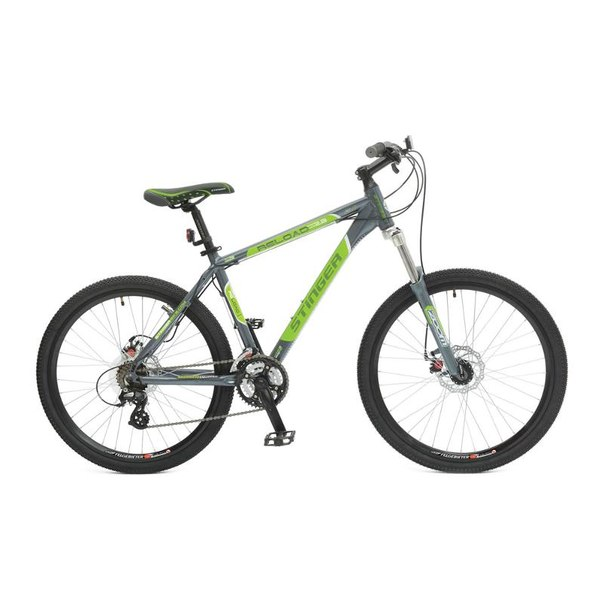 Велосипед stinger reload 2.3, серый/зеленый (х31320-к)