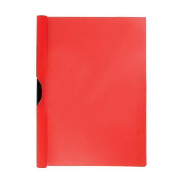 Папка с клипом erich krause clipfile, а4, красная (12 шт)
