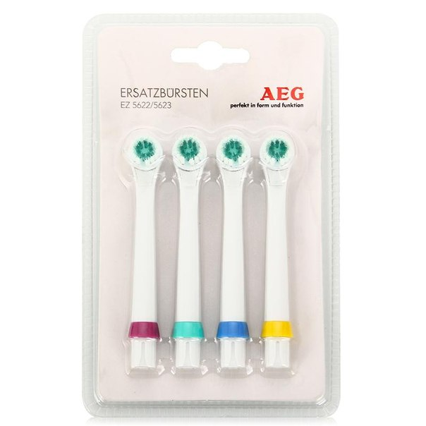 Сменные насадки для электрических зубных щеток aeg ez5622/ez5623