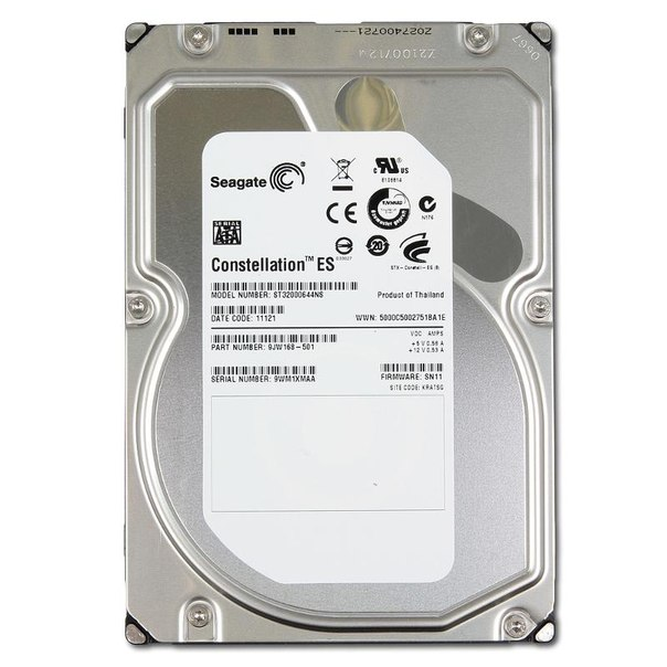 Жесткий диск hdd 2тб, seagate constellation es, st32000644ns
