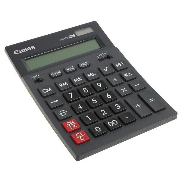 Калькулятор canon as 888 bk