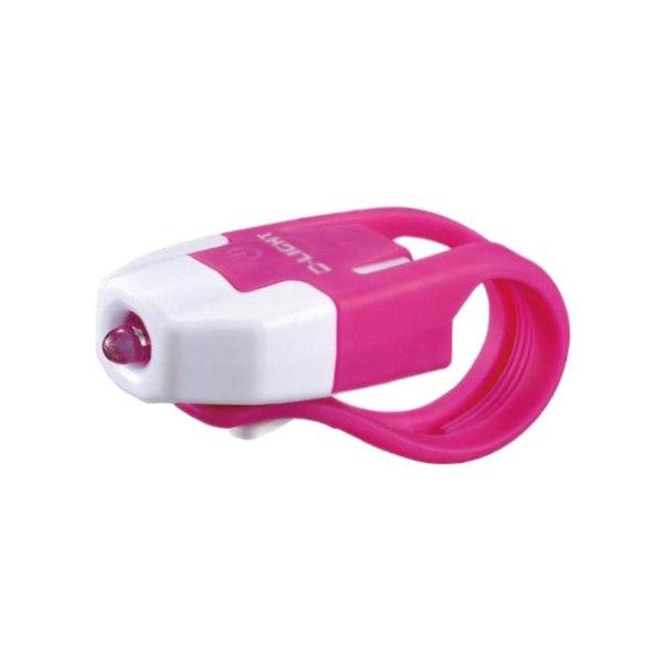 Передний габаритный фонарь d-light, 1вт, бело-розовый