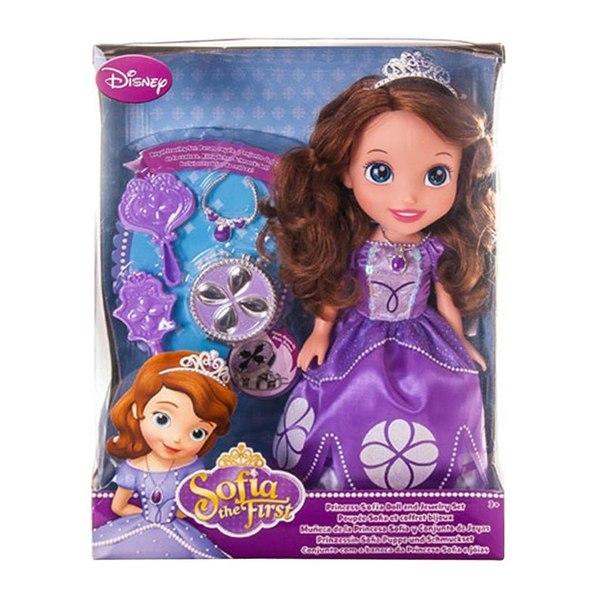 Кукла принцессы дисней софия, с украшениями для куклы, 37 см