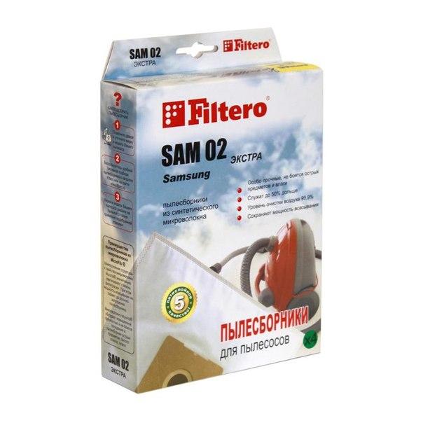 Мешок-пылесборник filtero sam 02 экстра