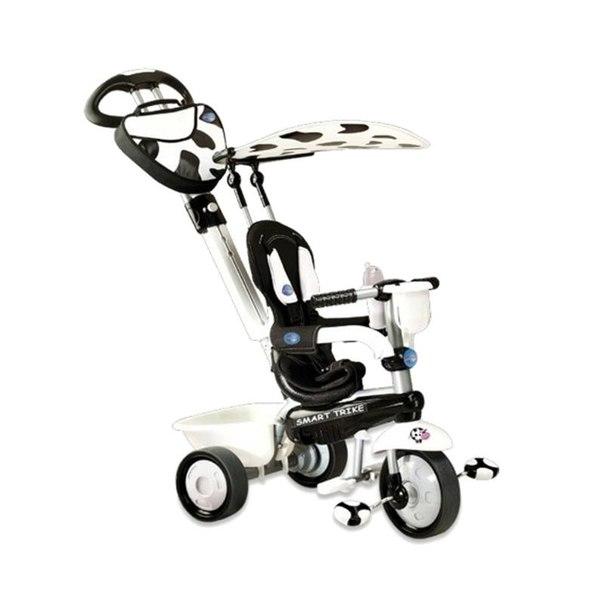 Велосипед трехколесный smart trike 1573400 zoo-collection cow корова черно-белый