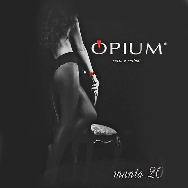 Колготки opium mania, 20 den, nero, 2