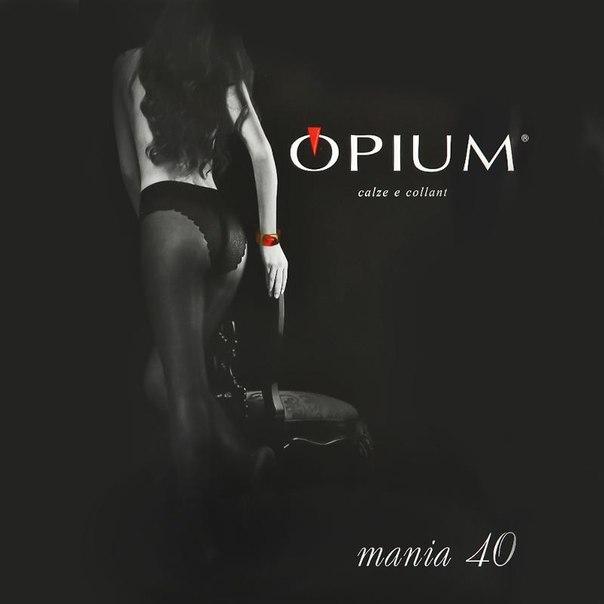 Колготки opium mania, 40 den, nero, 2