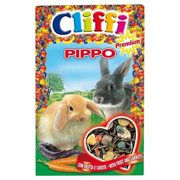 Корм для кроликов cliffi, с фруктами и морковью