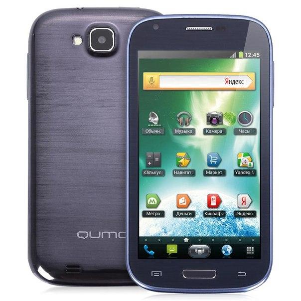 Смартфон qumo quest 450 dark blue