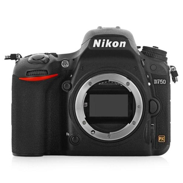 Зеркальный фотоаппарат nikon d750 body black