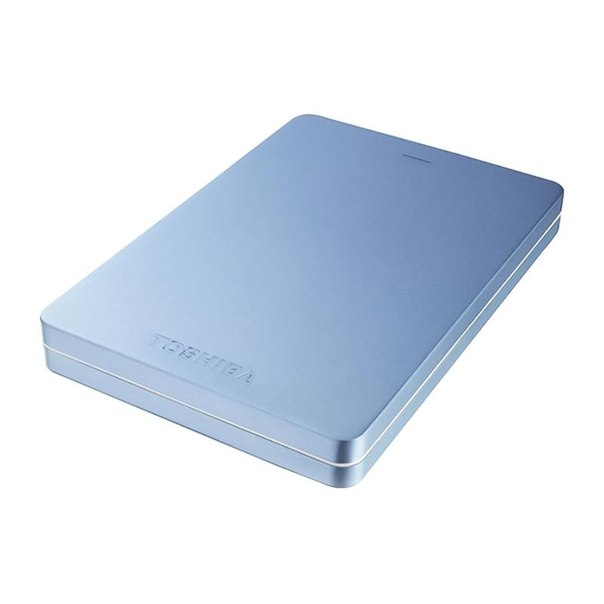 Toshiba canvio alu s3, hdth305el3aa, 500гб, синий
