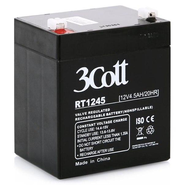 Батарея аккумуляторная 3cott rt1245