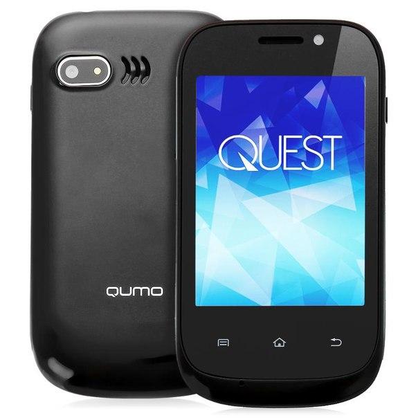 Смартфон qumo quest 320 black