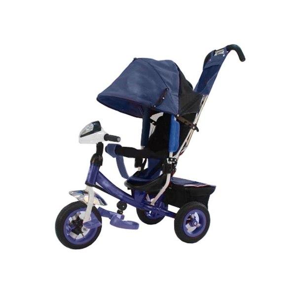 Велосипед трехколесный ввт trike flower jf7w бело-синий