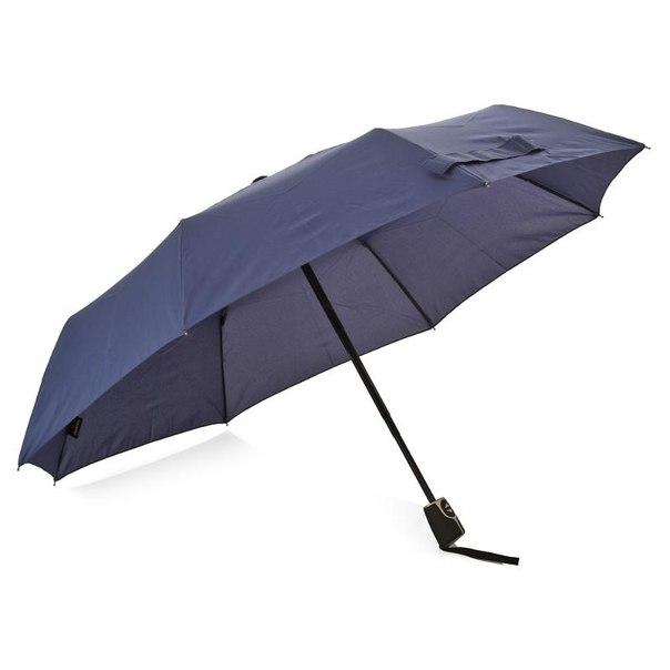 Зонт женский doppler, 3 сложения, полиэстер, полный автомат, фиберглас