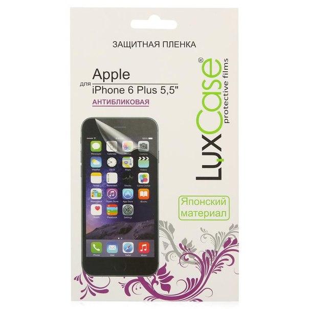 "Защитная пленка luxcase для apple iphone 6 plus 5.5"", антибликовая"