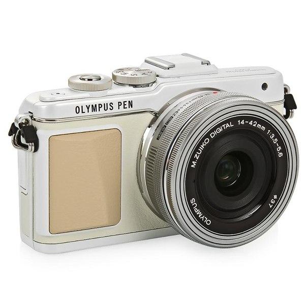 Цифровой фотоаппарат olympus pen e-pl7 kit 14-42mm ez white