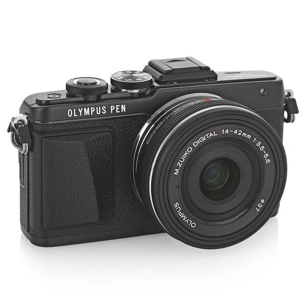 Цифровой фотоаппарат olympus pen e-pl7 kit 14-42mm ez black