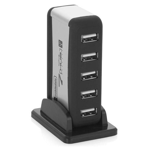 Концентратор usb 2.0 mobiledata hb-08a на 7 портов