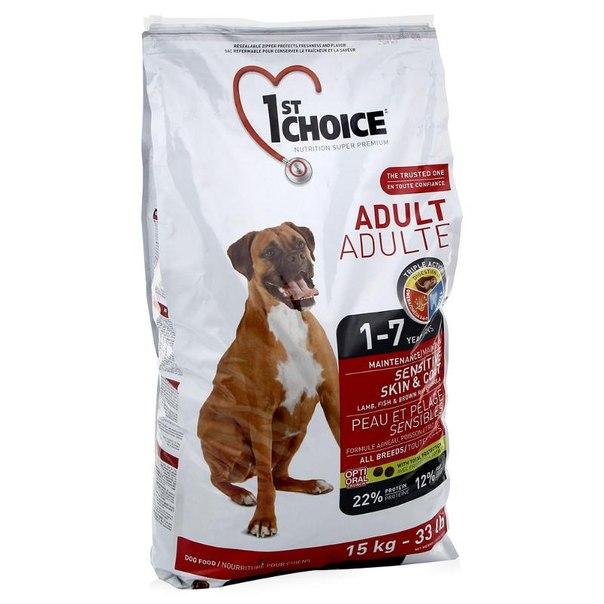 1st choice vs корм royal canin