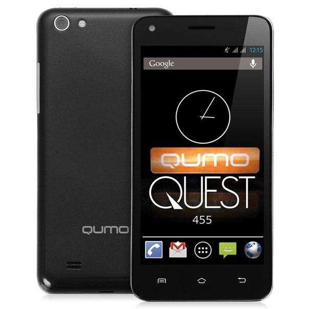 Смартфон qumo quest 455 black