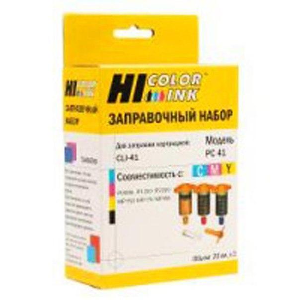 Заправочный набор hi-black для canon cli-8/cli-521/cl-51/bci-24, 3x20ml, color