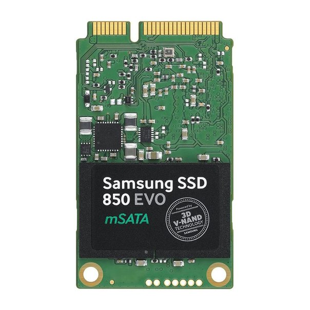 Жесткий диск ssd 500гб, msata, sata iii, samsung 850 evo series, mz-m5e500bw