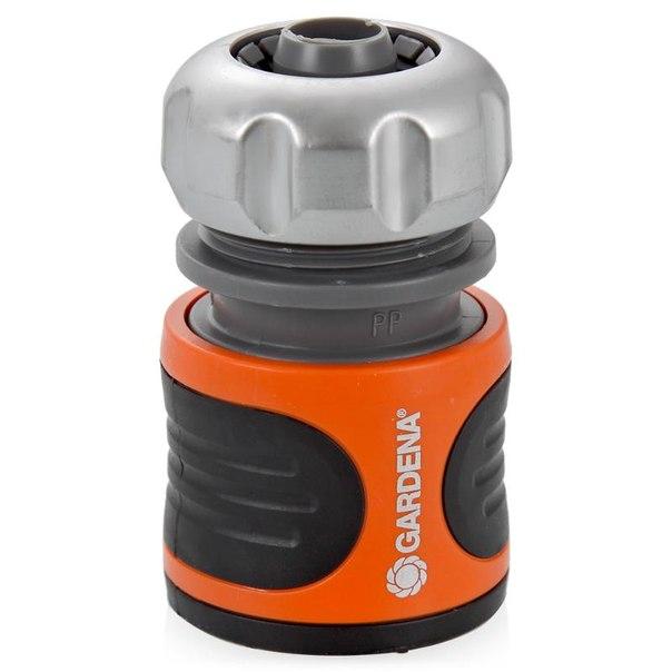 Коннектор с автостопом gardena premium 08168-20.000.00 1/2