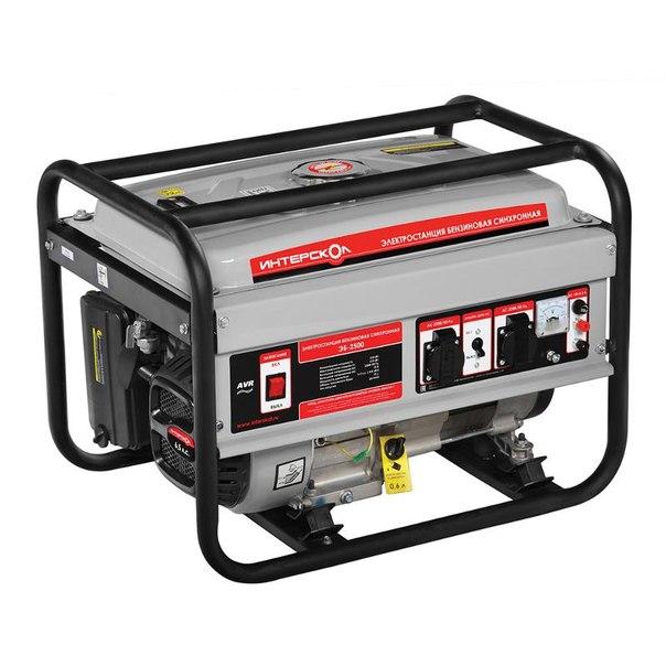 Электрогенератор интерскол эб-2500