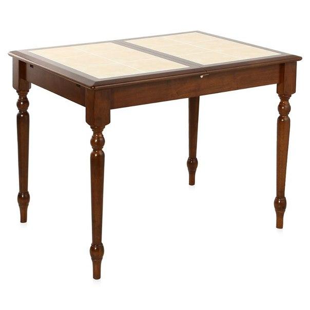 Стол обеденный раскладной tetchair 1000(1270)x740x750(н), цвет темный дуб