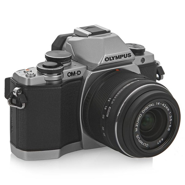 Цифровой фотоаппарат olympus om-d e-m10 kit 14-42mm silver