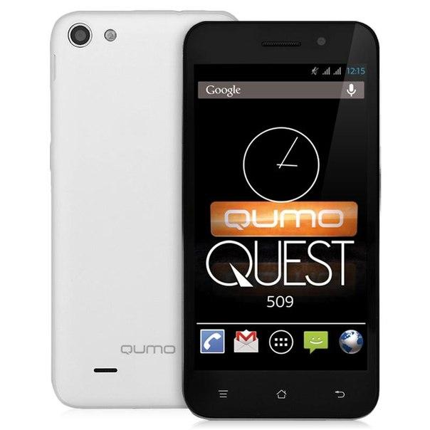 Смартфон qumo quest 509 white