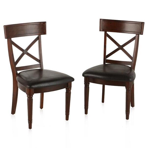 Комплект стульев обеденных tetchair 550x600x960(н), 2 шт, цвет мерло
