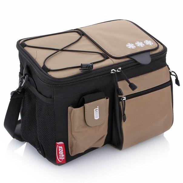 Изотермическая сумка ezetil kc professional 12 black-beige