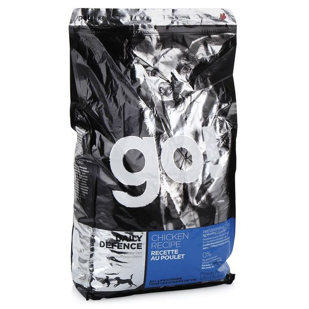 Корм сухой go! natural holistic для щенков и собак (с цельной курицей, фруктами и овощами) 5,44 кг