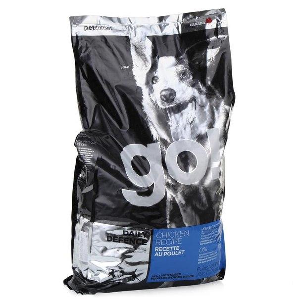 Корм сухой go! natural holistic для щенков и собак (с цельной курицей, фруктами и овощами) 11,3 кг