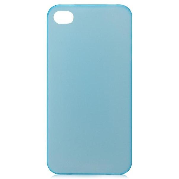 Чехол крышка zakka для iphone 4/4s, голубой