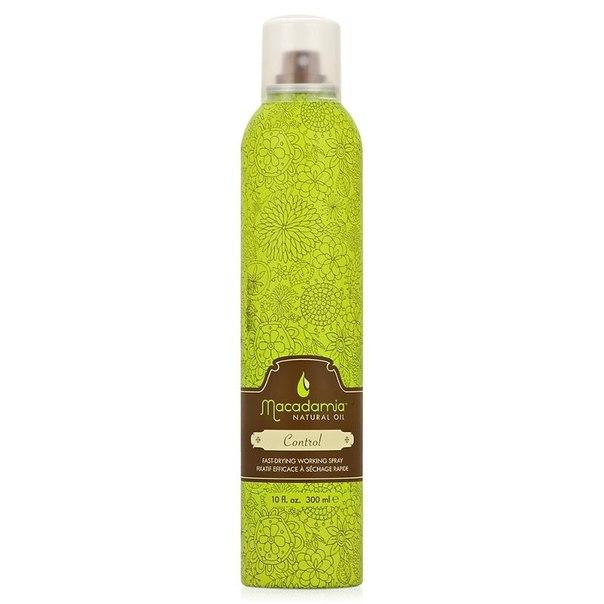 Лак для волос macadamia natural oil control hair spray, 300 мл