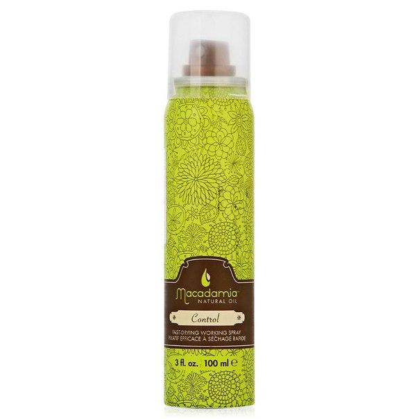 Лак для волос macadamia natural oil control hair spray, 100 мл