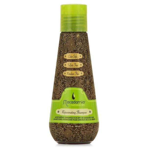 Шампунь для волос macadamia natural oil rejuvenating shampoo, 100 мл