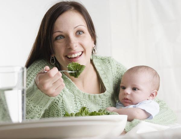 Первые дни после родов. Питание.