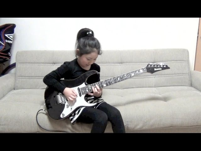 Guthrie Govan Rhode Island Shred Cover / Li-sa-X (Japanese 9 year old girl)