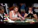 Флеш Рояль на WSOP 2008 против каре тузов