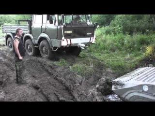 Zebín 2012 Tatra 813 vs BVP