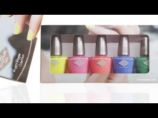 The happy hippie collection: spring/summer nail collection 2015