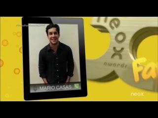 Mario Casas es 'El mejor prota de cine' en los Neox Fan Awards 2014