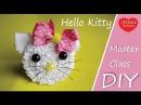 Hello Kitty - Резинка для Волос / How to Set Hair Elastics Hello Kitty. Hobby. DIY