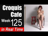 Croquis Cafe: The Artist Model Resource, Week #125