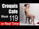 Croquis Cafe: The Artist Model Resource, Week #119