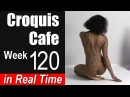 Croquis Cafe: The Artist Model Resource, Week #120